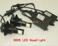 Wholesale U S CREE Chip W Auto LED Headlamps Auto LED Headlight Auto Headlamps Auto Headlight LED Head lamps LED Head light HB3
