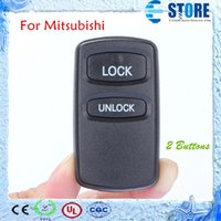 Wholesale 2 Buttons Remote Blank Key Cover for Mitsubishi Motors Car Key Shell for Replacement DHL Free A