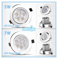down light mr16 - Cree LED Downlight Ceiling W W W W W W Recessed LED light Downlights Dimmable LED down Lights Lamps Warm White V