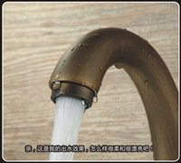 basin taps pair - European antique copper faucet whole basin faucet hot and cold taps faucet factory direct single hole pairs