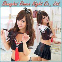 sexy bedroom costumes - Flirt Bedroom Japanese School Uniform Cosplay Costumes Women Sexy Babydolls Lingerie Costumes