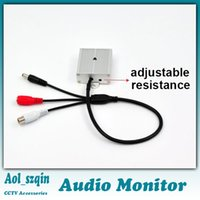 Wholesale adjustable resistance audio monitor sound voice pickup dc v automatic AGC