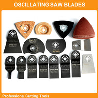 diamond tools - Professional set Oscillating Tools Saw Blades Accessories fit for Multimaster power tool as Fein Dremel etc