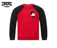 army style clothing - 2017 new style Crooks and Castles Sweatshirts hip hop clothes pullover fashion clothing brand new Sweatshirts