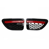 Wholesale Black Red GRILLE RANGE ROVER SPORT Wing SIDE VENT AIR for LAND ROVER