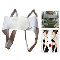 Wholesale Body Support Corrector Back Straightener Hunched Correction Tape Body Posture Correction Beauty Body Back Pain Support Shoulder Band Belt