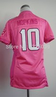 best new wines - Factory Outlet Women Deandre Hopkins Jersey Lady Football Jersey New Woman Best Quality Authentic Jersey Embroidery Logo Mix Order
