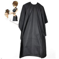 Wholesale Adult Salon Hair Cut Hairdressing Barbers Hairdresser Cape Gown Cloth Waterproof Clothing for Hair Cutting