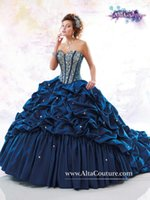Cheap Customize Taffeta Red Princess Long Quinceanera Dresses Jacket Fold Corset Bodice Sweetheart Prom Dresses Pick ups Pageant Gowns Ball Gown