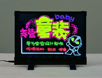 Wholesale LED writing board panel table signs lighting display advertisement x30cm
