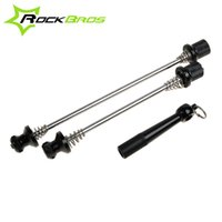 Wholesale Anti Theft Skewers Road Bike Cycling MTB Wheels Locking Security Quick Release Skewers For Bicycle Parts Colors