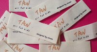 other clothing labels - Custom garment clothing printing cotton Labels customised care label wash label
