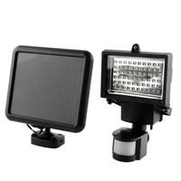 Wholesale NEW FINENAV LEDs Waterproof Outdoor Sensor Motion Led Solar Wall Light LED Floodlight Spotlight Street Light SD60