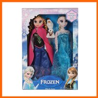 new toys for christmas - Christmas Toy New Arrival Frozen Anna Elsa olaf Toys Princess dolls Inch Gift For Kids Girls courage story Christmas gifts