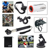 Wholesale Car Bike Outdoor Sports Kit for Polaroid XS100 XS100I XS80 Action Camera