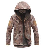 Wholesale Lurker Shark skin Soft Shell TAD V Outdoor military uniform Tactical Softshell Jacket Waterproof fleece hunting clothes