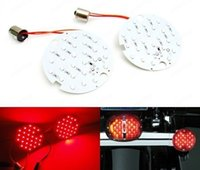 Wholesale 2PCS Red SMD LED Rear Turn Signal Panel Light Bulb For Touring