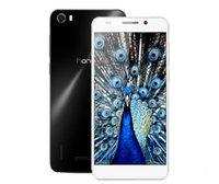 Superior Original Huawei Honor 6 teléfono 4G LTE FDD-LTE WCDMA Dual sim Kirin 920 octa core de 3 GB Ram 16GB / 32GB ROM android 4.4 13MP/5MP DHL gratis