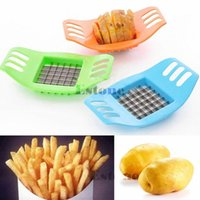 Wholesale French Fries Potatoes Cutter Cut into Strips Kitchen Tools Gadgets Color Random