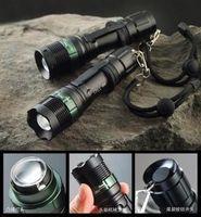 Wholesale Surefire flashlight lens zoom flashlight CREE Q5 light flashlight bike light