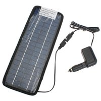 Wholesale High quality V W Multi Purpose Solor Battery Charger For Cars Boat Motorcycle Etc Solar Battery Panel With Car Charger