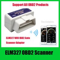 best wifi tools - Best Quality WIFI ELM327 OBDII OBD2 Auto Scan Tool Support Android IOS System ELM Wifi Support All OBDII Protocols