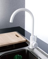 kitchen faucet - CLOUD POWER Chrome Kitchen Sink Faucets Taps With Brass Black White Beige Blue Orange and Green