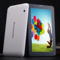 Wholesale NEW LENOVO INCH TABLET DUAL CAMERA G SIM CARD SLOT MB RAM G ROM TABLET PC WITH FLASH LIGHT