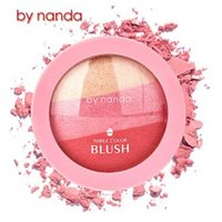 baking powder - New Arrival Lady BY NANDA New Beauty Face Blush Makeup Baked Cheek Color Blusher Palette Colorete Sleek Cosmetic Face Shadow Press Powder