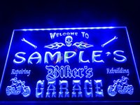 Disco bar restaurant names - DZ051 b Name Personalized Custom Biker s Garage Motorcycle Repair Bar Neon Sign JPG