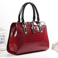Wholesale 2015 New Fashion Vintage PU Leather Handbag Women Messenger Bags Shoulder Bags Totes High Quality