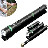 outdoor torches - New Outdoor Sports Rechargable Waterproof Torch Q5 LED Flashlight Zoomable LM Self Defence Use Flash Light