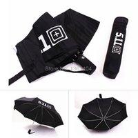 aluminum fiberglass - automatic umbrella men three folding windproof paraguas plegable Aluminum windproof umbrellas fiberglass large umbrella