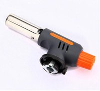 bamboo torches - Gas Torch Flamethrower Butane Burner Auto Ignition Camping Welding BBQ Outdoor Travel