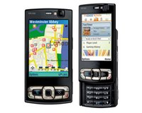 Wholesale Original mobile phone N95 GB Mobile Phone G MP Wifi GPS Screen GSM Unlocked Smartphone Russian keyboard Arabic Keyboard