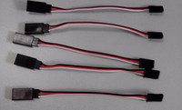 Wholesale 10pcs mm Servo extension cord Male to female for JR Plug Servo Extension Lead Wire Cable cm order lt no track