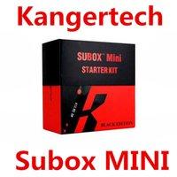 vape mods - kangertech kanger subox mini starter kit vape vapor VS eleaf w eleaf istick w box mod free DHL
