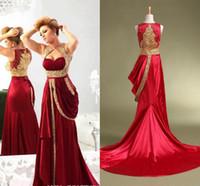 Cheap Muslim Kaftans Evening Dress Best Pakistani Girls Prom Party Gowns