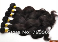 Wholesale JH Hot selling Bottom price high quality body wave natural color Brazilian could be dyed and permed remy hair weave