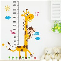 bedroom decals kidsroom decal quotes - kidsroom wall stickers home decoration environment friendly PVC vinyl wall art height ruler stair decals quotes for children