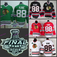 best cup size - chicago blackhawks patrick kane Final Stanley Cup Best quality ICE Winter Jersey Embroidery Logo Size M XL Hockey Jerseys