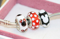 pandora style beads - 3pcs S925 Sterling Silver Murano Glass Beads Fit European Pandora Style charm Bracelets Necklaces