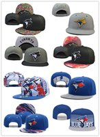 Wholesale Adult s New Toronto Blue Jays Adjustable Hat Baseball Sports Blue Jays Snapback Caps Embroidered quality
