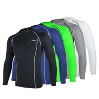 Wholesale ARSUXEO Reflective Cycling Jacket Men Sports Elastic Lycra Bicycle Clothing Breathable Quick Dry Bike Shirt Cycling Jersey