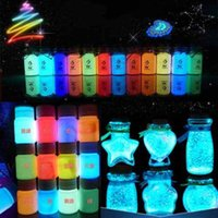 Wholesale 20g Graffiti Party DIY Glow in the Dark Acrylic Luminous Paint Bright Pigment color orange