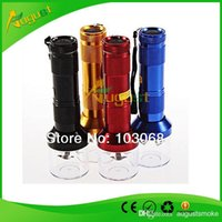spice smoke - New Torch Shaped Electric Grinder Crusher Herb Tobacco Spice Smoke Grinders vaporizer click n vape Quickly Aluminum CM