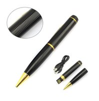 720p hd pen camera - Freeshipping Good quality Mini HD P Corn Pen Security Hidden Spy Surveillance Camera Camcorder DVR DV