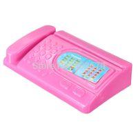 cheap 3pcs set miniature for pink computer set fax machine furniture for barbie dollhouse accessories free barbie dollhouse furniture cheap