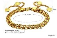 al por mayor gf bracelet-Oro 24k pulsera Sra pulsera GF