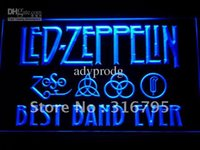 best led signs - 313 b Best Band Ever Led Zeppelin Neon Light Sign
